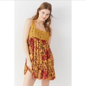 Out from under Thalia dress yellow floral babydoll